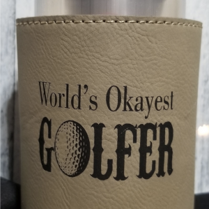 AW Laser Art Koozie product