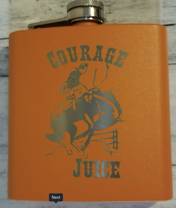 AW Laser Art Flask product