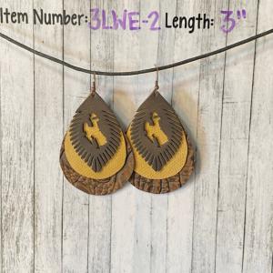 AW Laser Art Earrings product